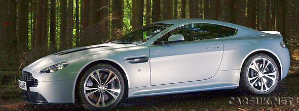 The spectacular Aston Martin V12 Vantage is US bound