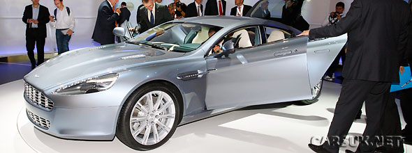 The Aston Martin Rapide promo video below
