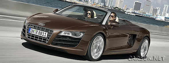 Pictures of the new Audi R8 Spyder
