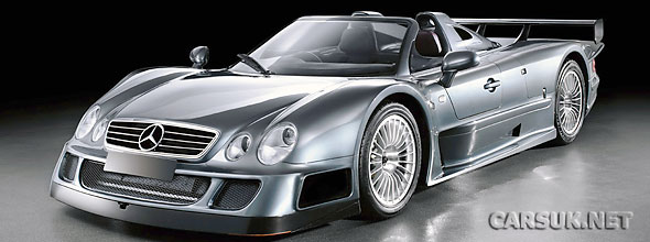 RHD Mercedes CLK-GTR Roadster. Sold at auction for £616,000