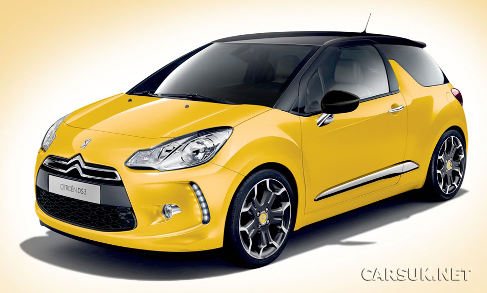 citroen ds3 interior pictures. The Citroen DS3 launched at
