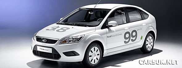 Ford has revealed the 2010 Focus ECOnetic at Frankfurt