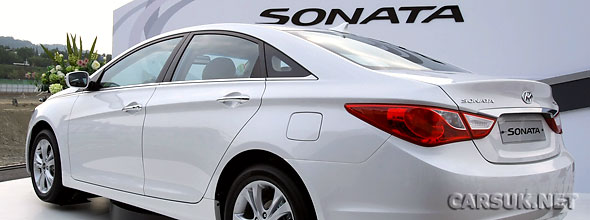 The new Sonata / i40 has launched in Korea