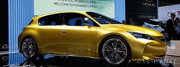 The Hybrid Lexus LF-Ch reveal at the Frankfurt Motor Show