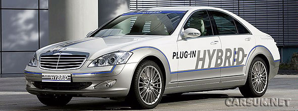 The 2012 Mercedes S Class will offer a Hybrid Plug-In option.