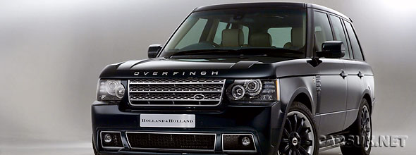 The Holland & Holland Edition of the Range Rover by Overfinch