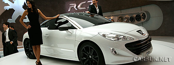 The Limited Edition Peugeot RCZ at Frankfurt