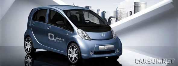 Peugeot are bringing the iON EV to Frankfurt