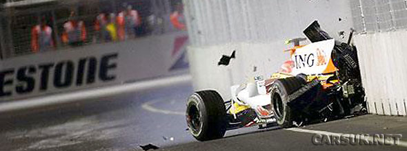 The Piquet accident at Singapore - which wasn't an accident at all