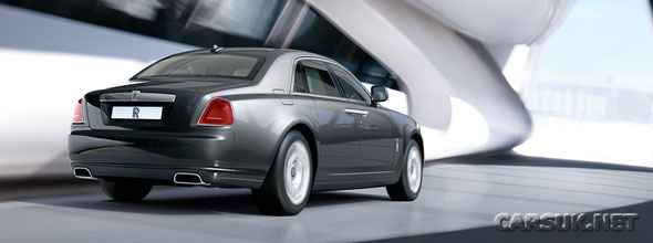 Rolls Royce has finally released the Ghost