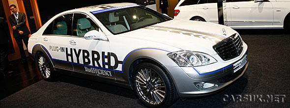 Mercedes has revealed the S500 plug-in Hybrid at Frankfurt