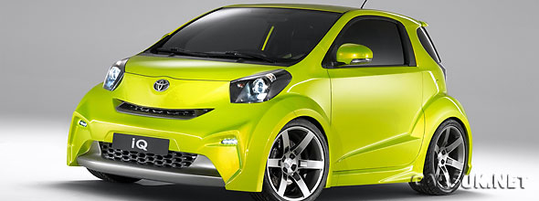 The 'Customised' Toyota iQ for Sports
