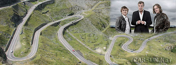 The Transfagarasan Road in the Carpathian Mountains - Scene of e new TG episode