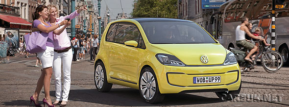 The VW E-Up! Concept Electric City Car