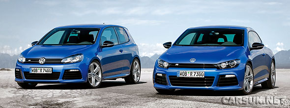 VW Golf R & VW Scirocco R - UK details and price
