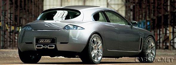 Jaguar R-D6 Concept. The basis for a Jaguar hatchback?
