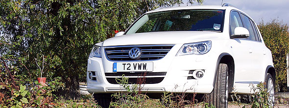 VW Tiguan - the lowest depreciating car in the UK