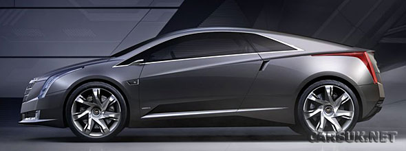 The Cadillac Converj hybrid is to go in to production