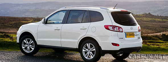 Details for the UK of the 2010 Hyundai Santa-Fe have been released