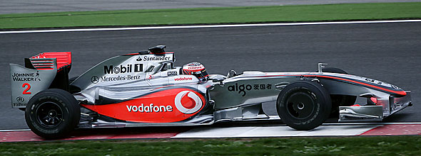 Mercedes are sticking with McLaren for the 2009 season - but probably Brawn GP too.