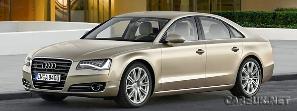 The 2011 Audi A8 revealed this morning in Miami