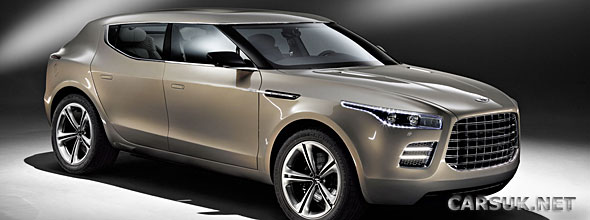 New pictures of the Lagonda SUV Concept have been published by Aston Martin