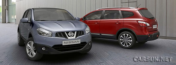 The Facelifted 2010 Nissan Qashqai