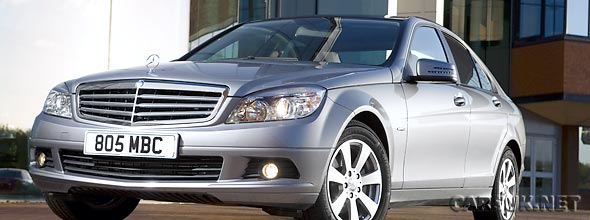 The Mercedes C-Class BlueEfficiency