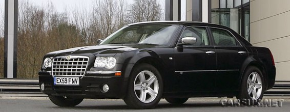 The Chrysler 300C - revised model linup for 2010 in the UK