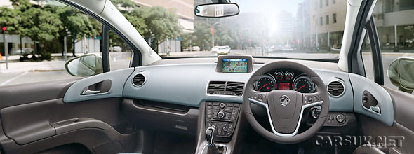 The 2010 Vauxhall Meriva Interior