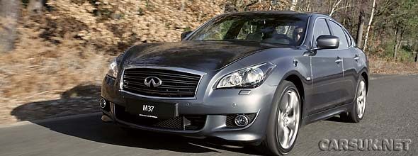 The Infiniti M Line at Geneva