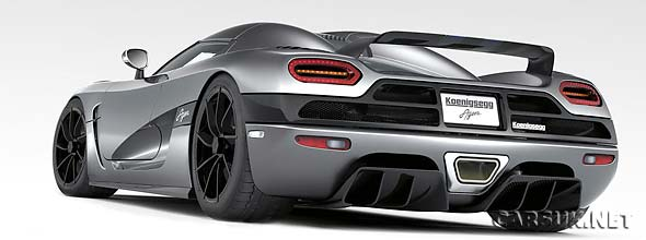 The Koenigsegg Agera