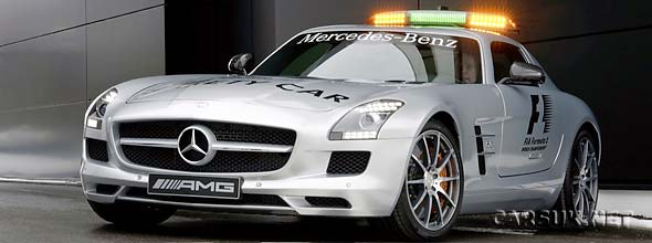 The Mercedes SLS AMG F1 Safety Car