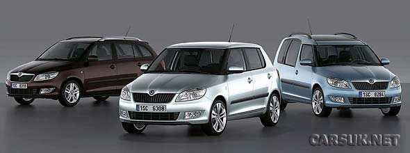 The 2010 versions of the Skoda Fabia and Skoda Roomster will be at Geneva