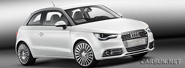 The Audi A1 e-tron