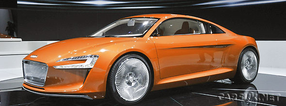 The Audi R8 e-tron LA