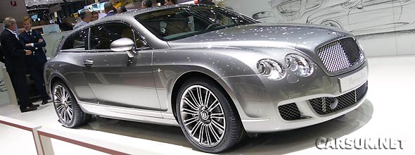 The Bentley Flying Star Shooting Brake