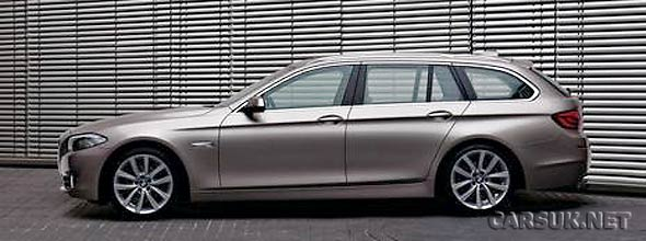 The BMW 5-Series Touring 2011