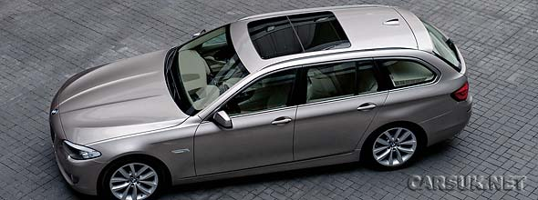 The BMW 5 Series Touring 2010-2011