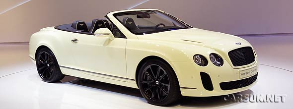 The Bentley Continental Supersports Geneva