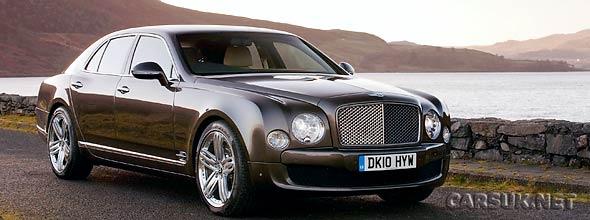 The Bentley Mulsanne 2010