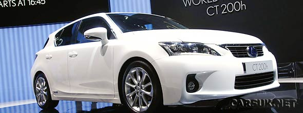 The Lexus CT 200h at Geneva
