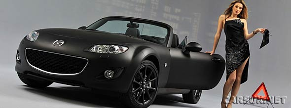 The Mazda MX5 Matte & Black