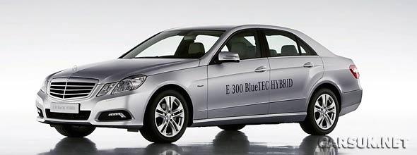 The Mercedes E300 Bluetec