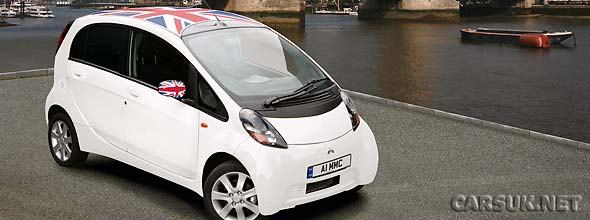 The Mitsubishi i-MiEV UK