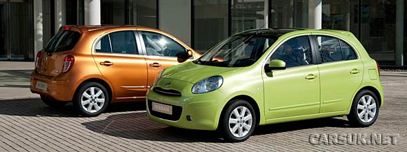 The Nissan Micra 2010