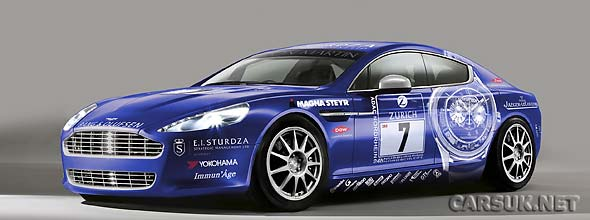 The Aston Martin Rapide Nurburgring 24 Hours