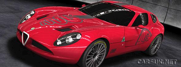 The Alfa Romeo TZ3 Corsa