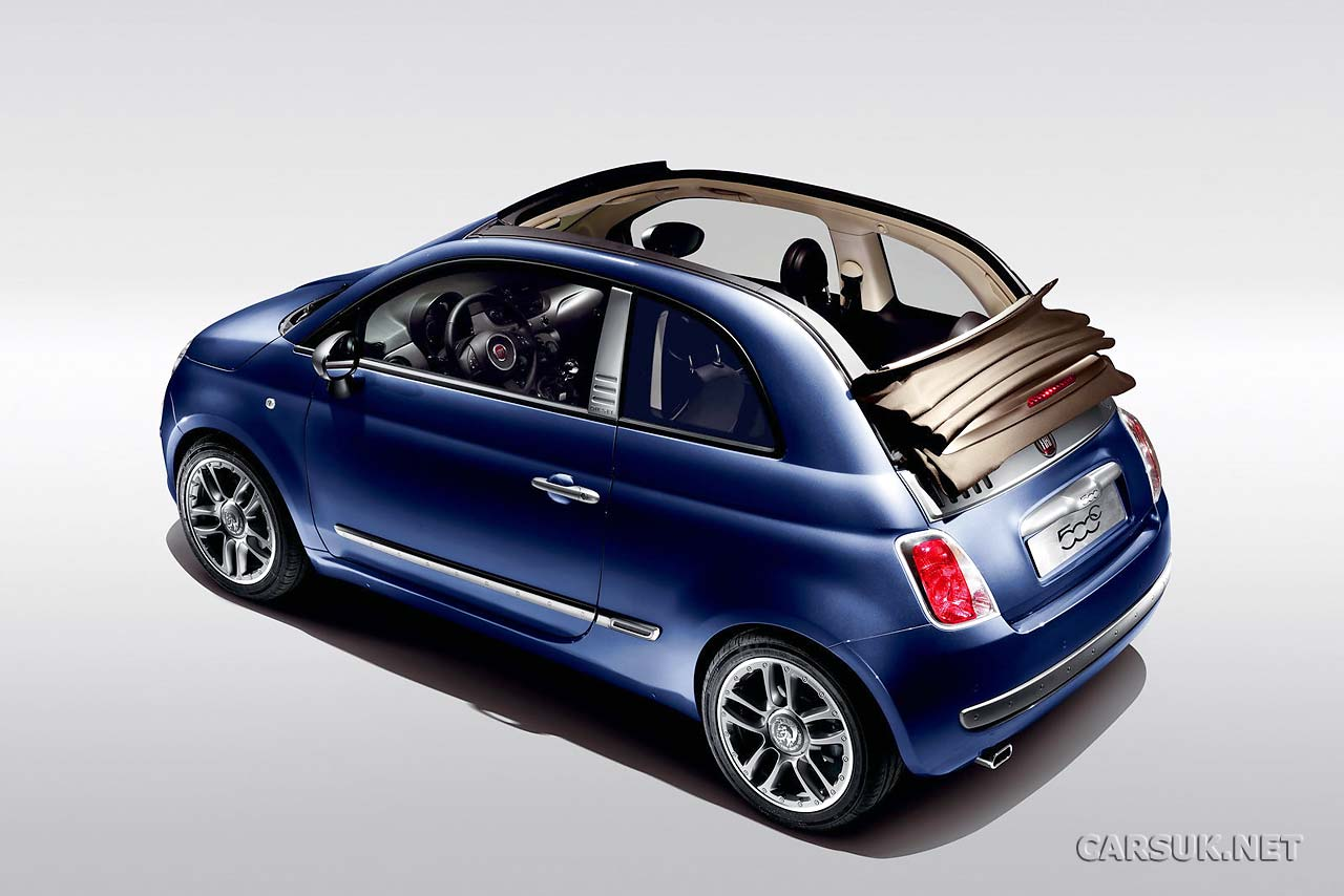Fiat 500 By Diesel Now It S The Convertible 500c By Diesel