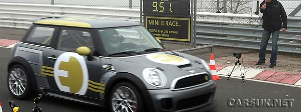 The MINI-E Nurburgring